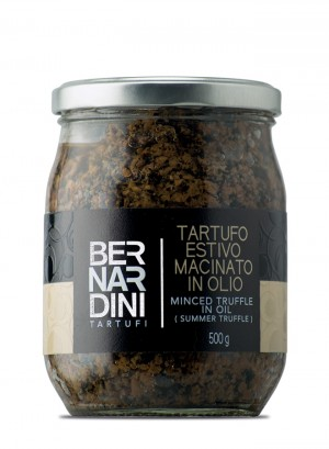 Minced truffle in oil (Summer truffle) 500g