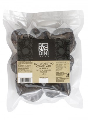 Whole black summer truffle frozen 500g