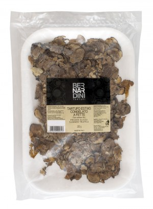 Sliced black summer truffle frozen 250g