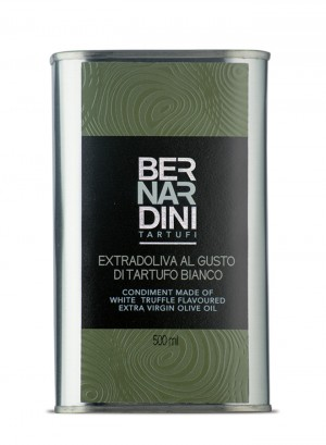 Extra virgin olive oil with white truffle - can 500ml