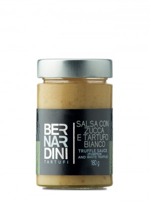 Truffle sauce (pumpkin and white truffle) 180g
