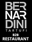 Bernardini Truffles, Online shop, B2B, restaurant, chef
